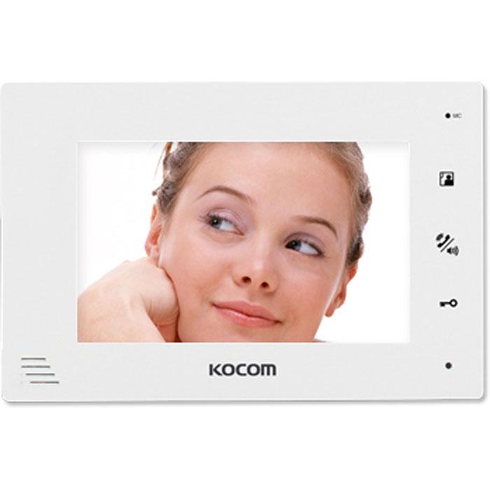 Цв. монитор видео- домофона KCV-A374