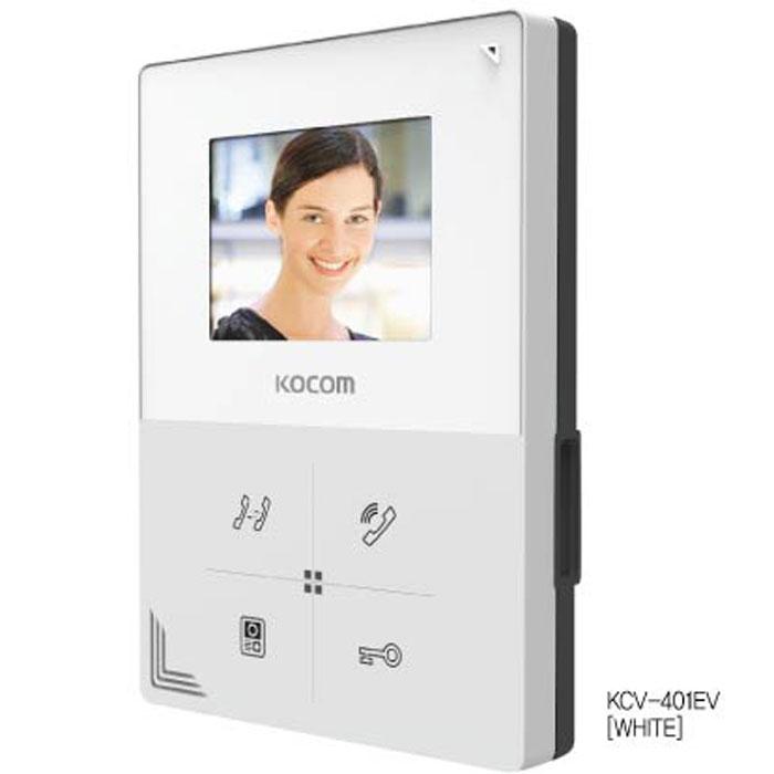 Цв. монитор видео- домофона KCV-401EV